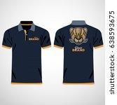 color men polo shirts. design... | Shutterstock .eps vector #638593675
