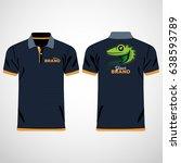 color men polo shirts. design... | Shutterstock .eps vector #638593789