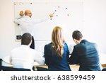 business people meeting... | Shutterstock . vector #638599459