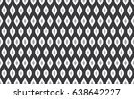 seamless black and white... | Shutterstock . vector #638642227
