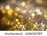 Abstract Golden Bokeh...