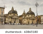 View Of Piazza Del Popolo In...