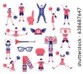 sport club fans buffs... | Shutterstock .eps vector #638687647