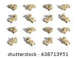 military transportation... | Shutterstock .eps vector #638713951