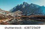 high tatra mountains in...   Shutterstock . vector #638725609