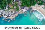 sea and the beach | Shutterstock . vector #638753227