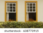 colonial house in the city of... | Shutterstock . vector #638773915