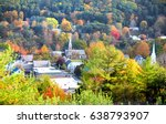 aerial view of south royalton ... | Shutterstock . vector #638793907