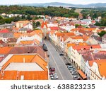 aerial view of gothic lower... | Shutterstock . vector #638823235