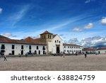 villa de leyva main square | Shutterstock . vector #638824759