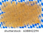burlap destroyed torn ripped...   Shutterstock . vector #638842294