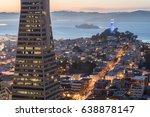san francisco  california  usa  ... | Shutterstock . vector #638878147
