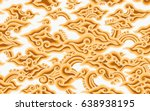 batik painting of java... | Shutterstock .eps vector #638938195