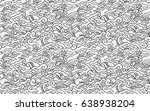 batik painting of java... | Shutterstock .eps vector #638938204