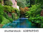 beautiful italian landscape in... | Shutterstock . vector #638969545