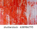 red rustic old wood | Shutterstock . vector #638986795