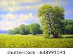 Oil Paintings Landscape  Trees