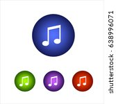 set music icon. colorful vector ...