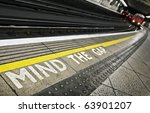 London Tube Platform Edge....