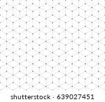 seamless geometric pattern | Shutterstock .eps vector #639027451