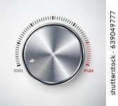 dial knob vector. global...