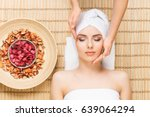 beautiful  young and healthy... | Shutterstock . vector #639064294