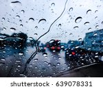 dark cloud  an heavy raining. ... | Shutterstock . vector #639078331