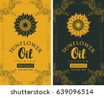 Set Of Two Vector Labels For...