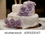 wedding cake | Shutterstock . vector #639103147