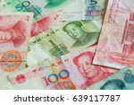 the many yuan. money china one... | Shutterstock . vector #639117787