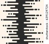 vector monochrome seamless... | Shutterstock .eps vector #639129724