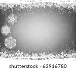 christmas background | Shutterstock .eps vector #63916780