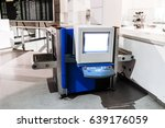 airport security check scan... | Shutterstock . vector #639176059