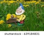 Garden Gnome With Wheelbarrow...