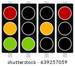 traffic light  traffic lamp... | Shutterstock .eps vector #639257059