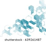 abstract pattern of light blue ... | Shutterstock .eps vector #639261487