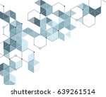 abstract pattern of light blue ... | Shutterstock .eps vector #639261514