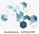 abstract pattern of light blue ... | Shutterstock .eps vector #639261589