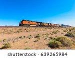 Freight Train Driving Through...