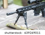 sniper rifle. wearpon.... | Shutterstock . vector #639269011