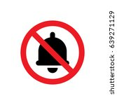 no notification icon... | Shutterstock .eps vector #639271129