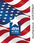 independence day 4th of july... | Shutterstock .eps vector #639299869