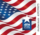 independence day 4th of july...   Shutterstock .eps vector #639299875