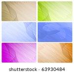 various business card   Shutterstock . vector #63930484