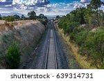 malmsbury railway tracks ...   Shutterstock . vector #639314731