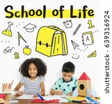 School Institute Study Learning Concept - Fine Art prints