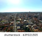 aerial view in sert ozinho city ... | Shutterstock . vector #639321505