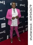Small photo of New York, NY USA - May 6, 2017: Alex Newell attends 28th Annual GLAAD media awards at Hilton Midtown hotel in New York