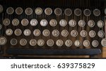 Old Typewriter Keys Rounded...
