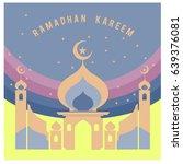 vector illustration for ramadan ... | Shutterstock .eps vector #639376081